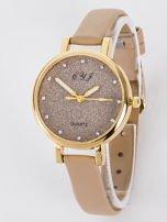 Zegarek damski glitter capuccino                                  zdj.                                  1