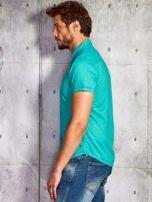 Zielona gładka koszula męska Funk n Soul                                  zdj.                                  3
