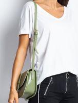 Zielona mała torebka miejska                                  zdj.                                  3