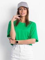 Zielony krótki t-shirt                                   zdj.                                  1