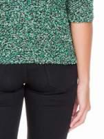 Zielony melanżowy sweter bouclé                                                                          zdj.                                                                         8