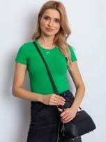 Zielony t-shirt Expected                                  zdj.                                  1