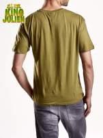 Zielony t-shirt chłopiecy KRÓL JULIAN                                                                          zdj.                                                                         5