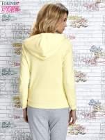 Żółta bluza z nadrukiem balonów                                  zdj.                                  4