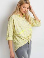 Żółta koszula Stylish                                  zdj.                                  3