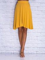 Żółta zwiewna spódnica midi                                  zdj.                                  1